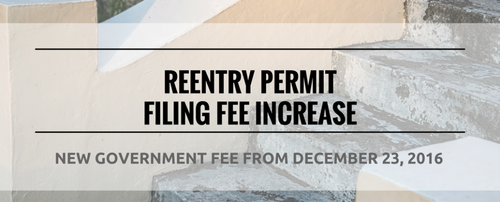 Reentry Permits Archives - U S  Green Card Reentry Permits